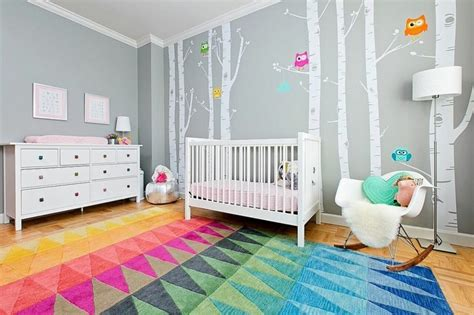 deco mur chambre bebe stickers chambre b 233 b 233 fille pour une d 233 co murale originale