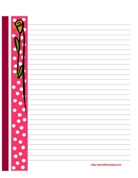 printable valentine stationery free printable valentine stationery