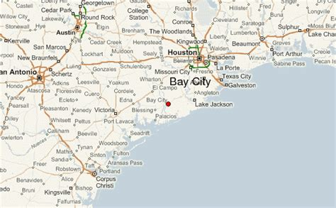 map of bay city texas bay city texas location guide
