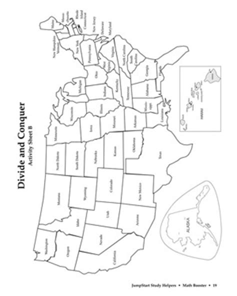Divide And Conquer Printable 3rd Grade Division Activity Math Coloring Pages 5th Grade