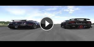 Lamborghini Veneno Vs Bugatti Veyron Race Fxx K Start Up Accelerations Sound