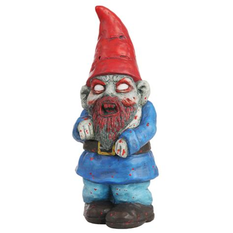 Garden Nome by Zombie Garden Gnome Stupid Com