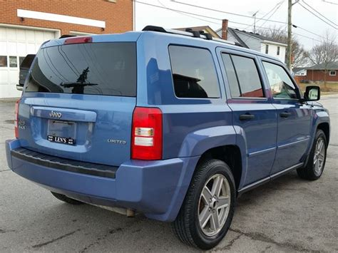 2007 Jeep Patriot Mpg 2007 Jeep Patriot Limited 4wd 5spd Jarvis Ontario Used