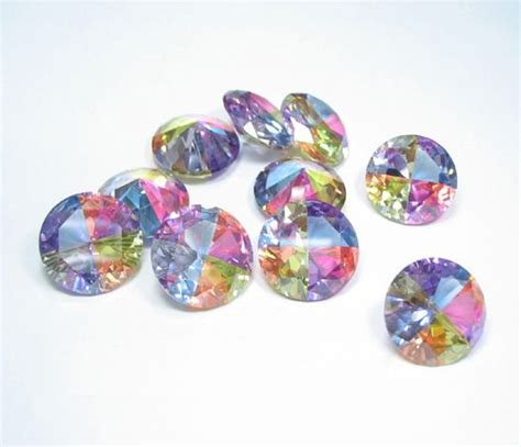 multi colored gems