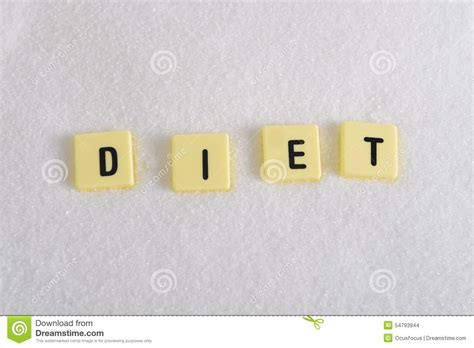up letter with sugar diet block letters in crossword sugar pile isolated