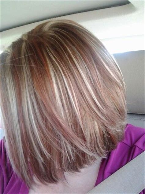 hairstyles brown hair blonde red highlights 213 best contrast hair color images on pinterest hair