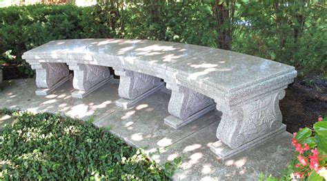 stone memorial bench chicago granite benches from geokat graniteabc monuments