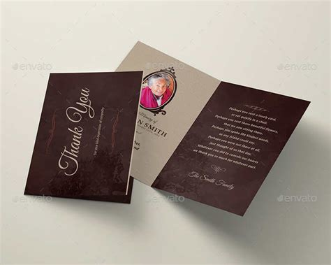 Funeral Card Template Psd by 12 Printable Funeral Card Templates Free Word Pdf Psd