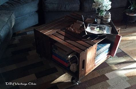 wood crate coffee table diy revolutionary diy ideas to repurpose wine crates decor