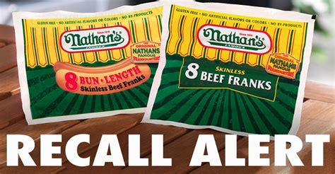 nathan s recall recall alert nathan s beef franks beef master beef franks julie s freebies