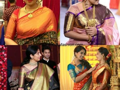 Blouse Bordir 1 big border blouse patterns for your kanjeevarams