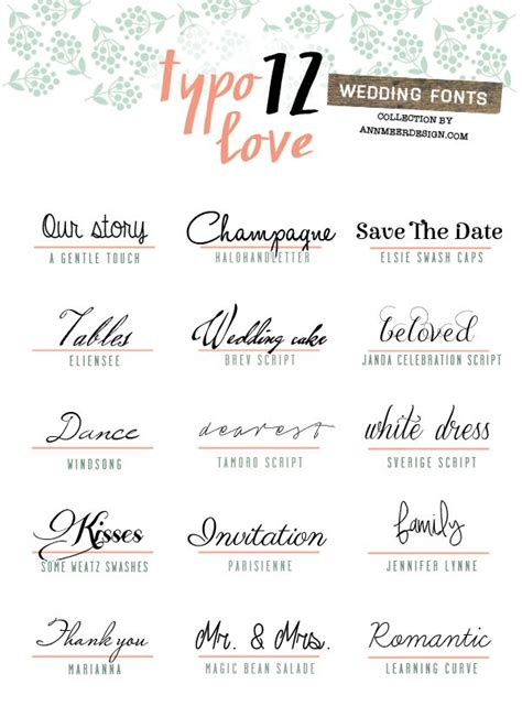 Wedding Font Pc by 1206 Best Images About Make The Cut Fonts On