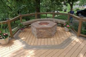 decks with hot tubs and fire pits home design ideas