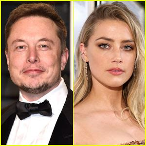 rumors amber heard going for big fish elon musk after amber heard back in l a after moscow trip with johnny