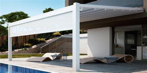 tende dwg pergola fusion nuova pergola in alluminio con tenda