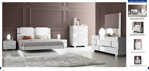 white modern bedroom furniture bedroom furniture modern bedrooms status caprice white decobizz