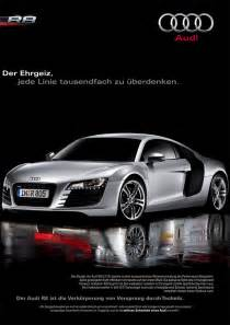 audi r8 advertisement poster on behance