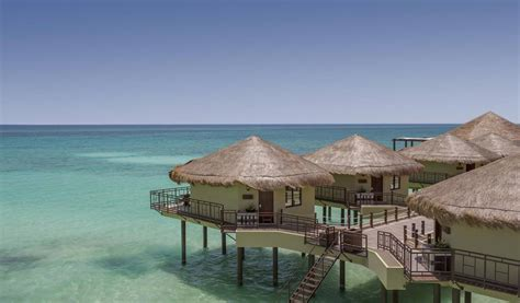 playa bungalows mexico s water bungalows open in playa