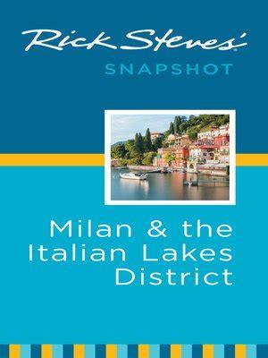 rick steves snapshot milan the italian lakes district books rick steves snapshot milan the italian lakes district