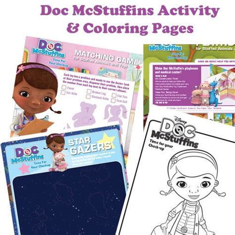 Doc Mcstuffins Worksheets by Doc Mcstuffin Activity And Coloring Pages Doc Mcstuffins