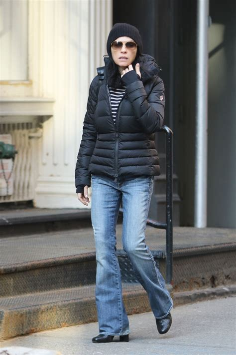 julianna margulies large head julianna margulies heads to the spa in soho in nyc 3 7 2016