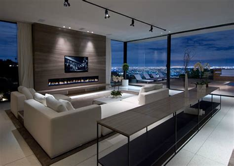 modern houses interior design luxury modern living room interior design of haynes house by steve hermann los