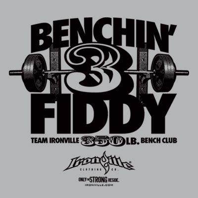 400 lb bench press club shop by design ironville clothing co