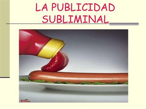 mensajes subliminales en la publicidad la publicidad subliminal