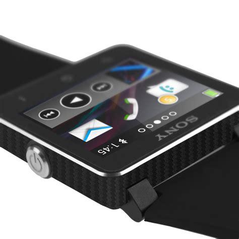 Resmi Sony Smartwatch 2 skinomi techskin sony smartwatch 2 carbon fiber skin protector