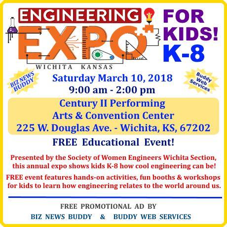 engineering expo  kids wichita biz news buddy