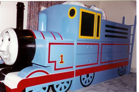 Thomas The Tank Engine Bed Furst Woodworking Engine Bed