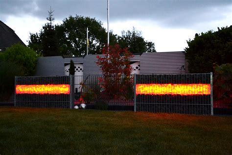 beleuchtete gabionen gabionen beleuchtung gabionen led licht mit einer