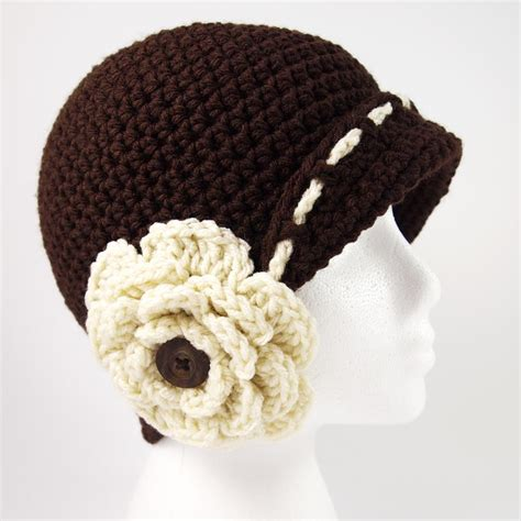 pattern crochet hat with flower vintage flower cloche hat crochet pattern allfreecrochet com