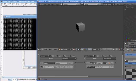 python tutorial blender game engine game up game development blog using python in the