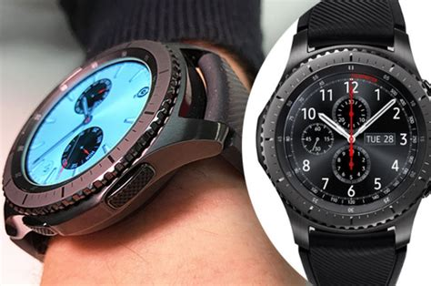 Smartwatch Gear S3 Frontier samsung gear s3 frontier review a smartwatch built for bond reviews