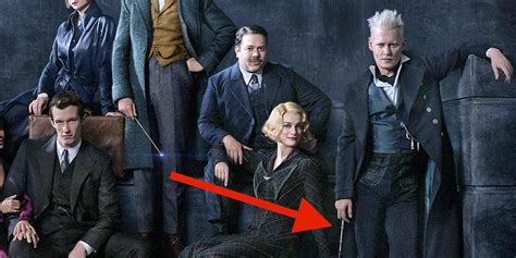 actress in fantastic beasts 2 fantastic beasts sequel photo shows young dumbledore and