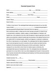 doc 10821400 parental consent form boynton beach