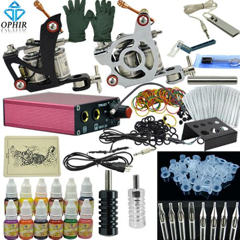 kit x tattoo aliexpress com buy ophir tattoo body art complete tattoo
