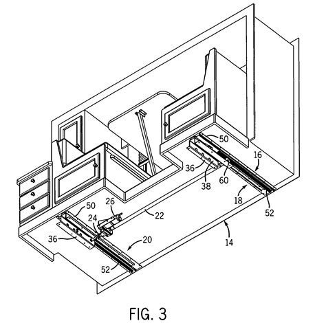 Tiny House Slide Out by Patent Us7229123 Camper Slide Out System Google Patents