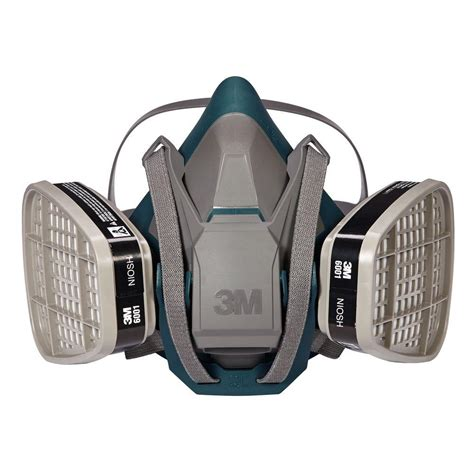 3m medium paint project respirator mask with latch