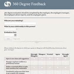 360 Degree Feedback Form Template by Formcentral Template Exchange 360 Degree Feedback