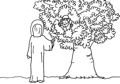 free printable coloring pages zacchaeus bible coloring pages zacchaeus az coloring pages