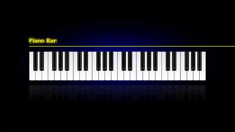 piano bar wallpaper free vector 4vector