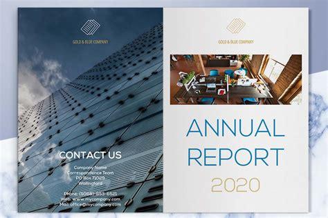 company profile design rates gold and blue company profile template 4 print