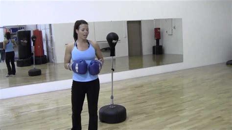 reflex bag drill beginners cardio routine for weightloss