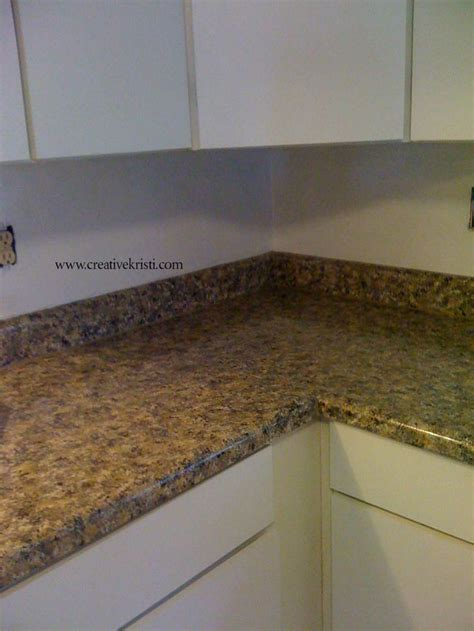 Diy Painting Countertops by Painting Laminate Countertops Part Two