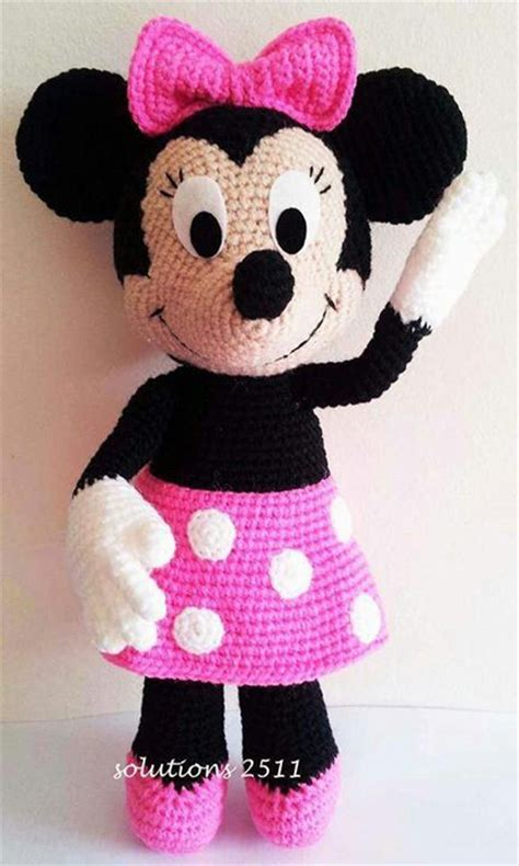 minnie mouse doll knitting pattern 3956 best images about crochet dolls amigurumis on