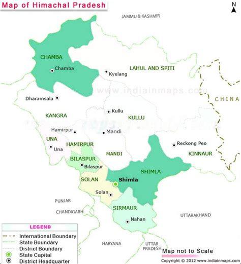 pradesh möbel himachal pradesh district map political map of himachal