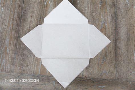Handmade Envelope Pattern - letter diy envelope the crafting