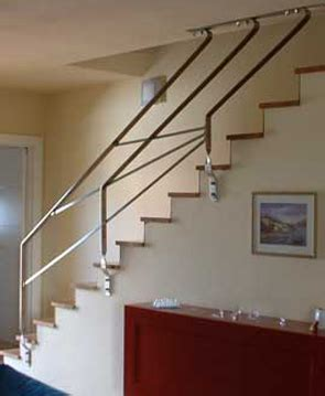 ringhiere da interno ringhiere in ferro battuto per scale esterni ed interni